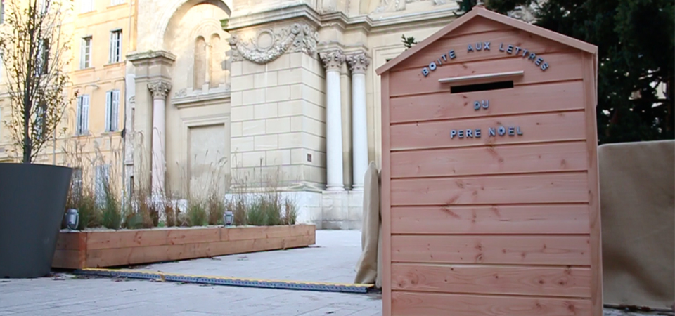 La boîte aux lettres du Père Nöel