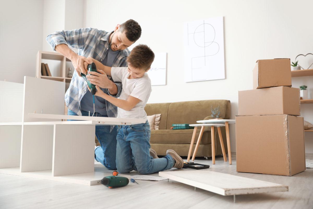 Votre meuble prêt à monter sur mesure